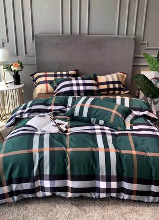 Двуспальное евро постельное белье с египетского хлопка