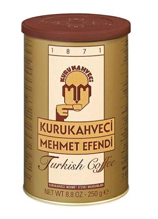 Турецкий молотый кофе Kurukahveci Mehmet Efendi 250г