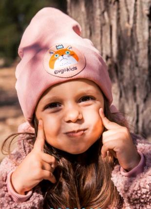Демисезонная детская шапка, детская шапка