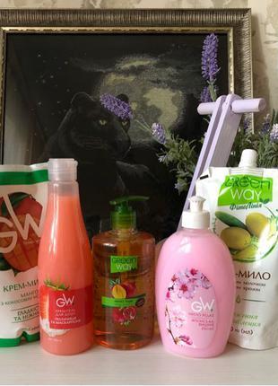 Набор жидкого мыла