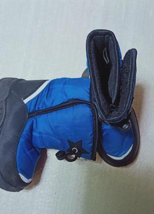 Детские зимние сноубутсы для мальчика. размер 25.5 по стельке ...