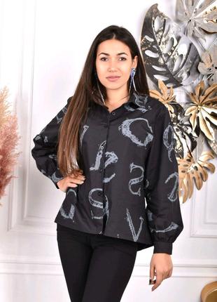 Рубашка блузка жіноча