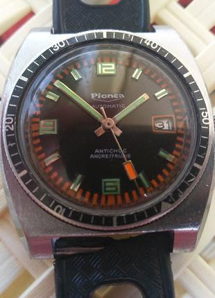 Винтаж часы годинник limited Pionca automatic ancre 17 rubis