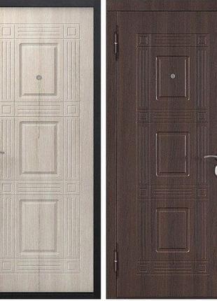 Входная дверь ШОК ЦЕНА! Виктория 60мм Тёмный кипарис/Лиственница