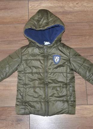 Куртка мальчику демисезон papagino 80-92 см, 1-2 года