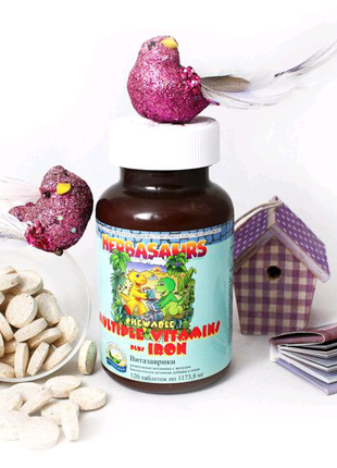 Детский иммунитет, Бифидозаврики, витамино-миниральныйКомплекс.