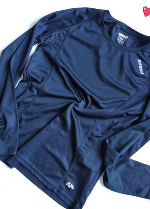Спортивный брендовый реглан karhu , лонгслив дышащий, одежда д...