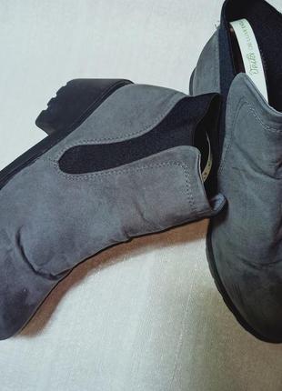 Ботинки на тракторной подошве . челси. ботинки. ботильоны. сапоги