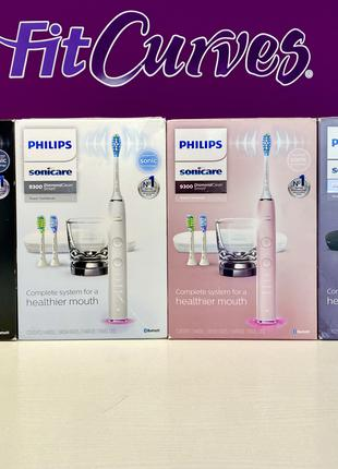 Звуковая зубная щетка PHILIPS Sonicare DiamondClean 9300 HX9903
