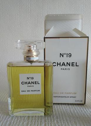 Оригинал ! chanel №19 eau de parfum легендарный