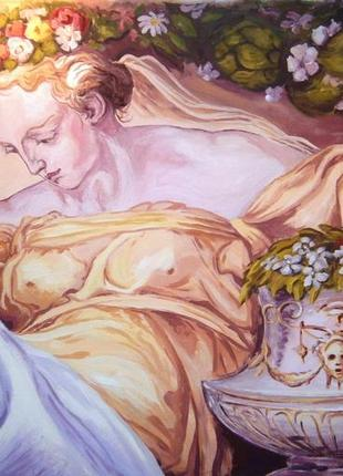 Художественная роспись стен, услуги художника, Киев и область.