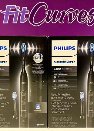 Звуковая зубная щетка PHILIPS Sonicare ExpertClean 7300 HX9610