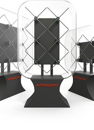 3D голографические вентеляторы