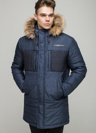 Зимняя куртка порш джинс
