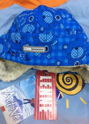 Зимняя демисезонная шапка lenne