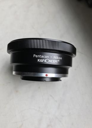 перехідник K&F Concept Pentacon 6 Kiev 60 Lens to Nikon