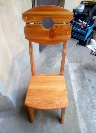 Стільці дерев'яні крісла стулья деревянные кресла
