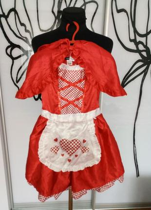 Карнавальный, костюм на хеллоуин красная шапочка