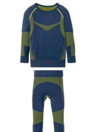 Набор термобелья для мальчика 4-6 лет crivit sports 110/116