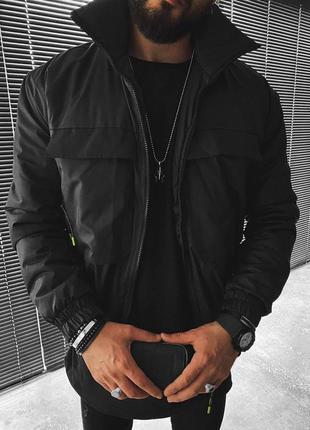 Куртка мужская турция черная / курточка чоловіча ветровка...