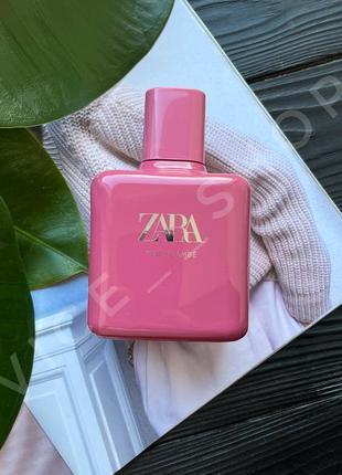 Zara pink flambé духи парфюмерия туалетная вода оригинал испания