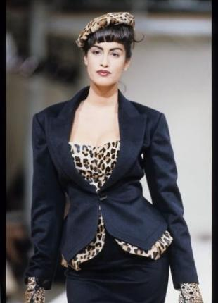 Жакет дизайнерский шерсть luxury *alaia paris* 44-46р