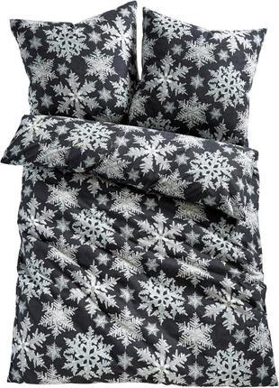 """Комплект постільної білизни  """" сніжинки  """"  із натуральної  хл..."""