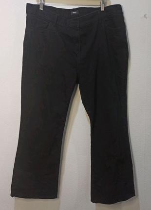 Джинсы мужские большого размера черные XXL 3XL ПОТ 56 см