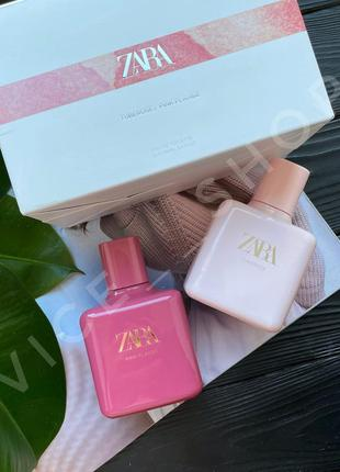Zara pink flambé tuberose духи парфюмерия туалетная вода оригинал