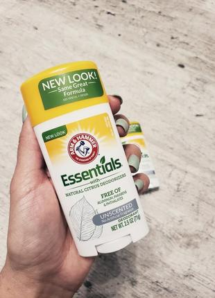 Дезодорант натуральный arm & hammer, essentials, для мужчин и ...
