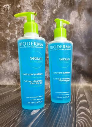 Bioderma Sebium Биодерма для жирной и комби кожи
