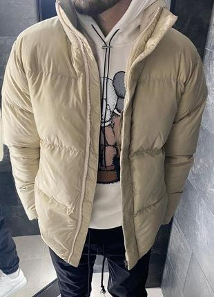 Куртка пуховик мужская стеганая еврозима / курточка пуховік чо...