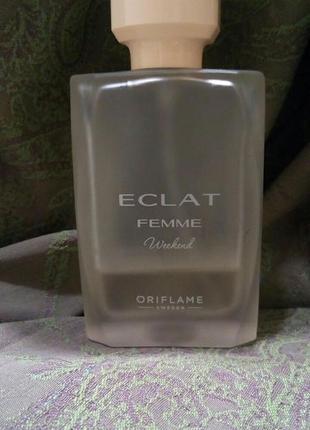 Туалетная вода eclat femme weekend, oriflame