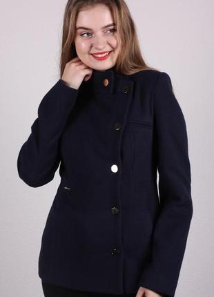 Пальто женское кашемир демисезонное весеннее короткое к46