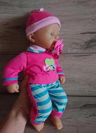 Кукла мальчик пупс май лилт беби борн my little baby born zapf
