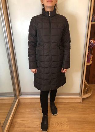Женский пуховик, пальто, длинная куртка от moncler оригинал s