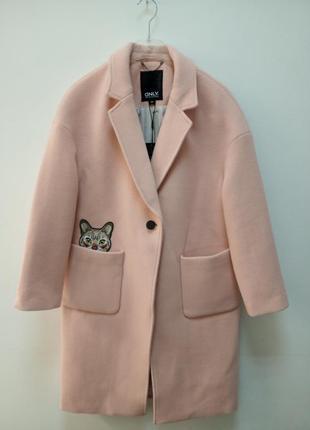 Женское пальто oversize от бренда only