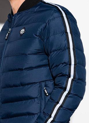 Дутая демисезонная куртка бомбер ombre, польша