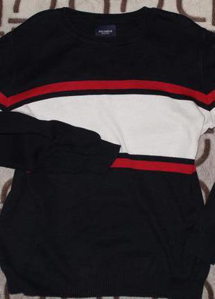 Чёрный свитер Pull&Bear