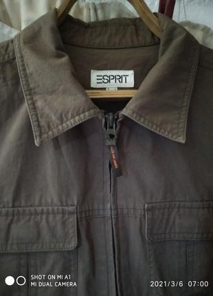 Ветровка (куртка) sprit котоновая  мужская/куртка на весну  48-50
