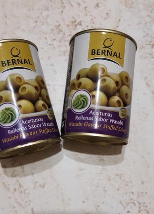 Оливки с васаби