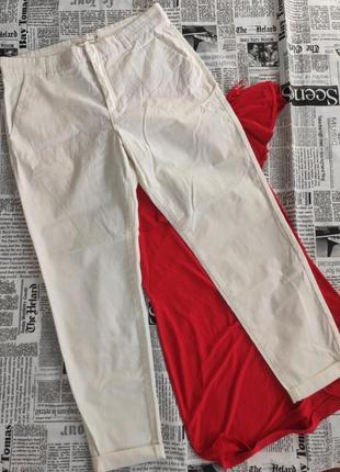 Белые брюки ,штаны