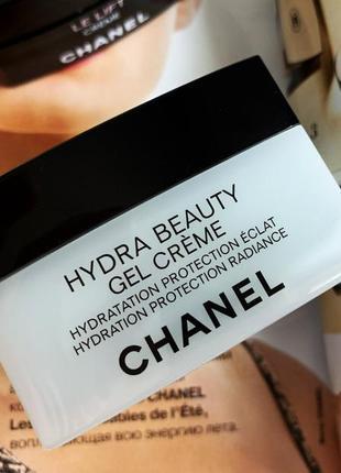 Крем-гель для лица chanel hydra beauty  50 мл,возраст 25+