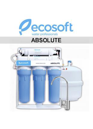 Система обратного осмоса Ecosoft Absolute с минерализатором (MO65