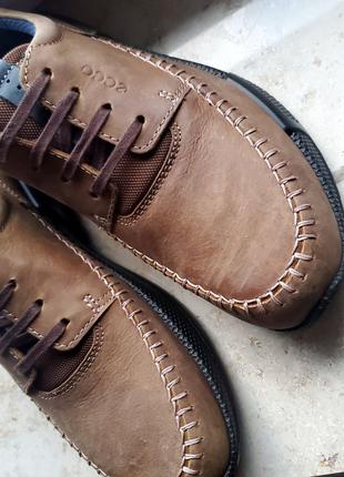 Чоловічі шкіряні туфлі Ecco