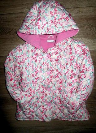 Теплая стеганая курточка на красотку