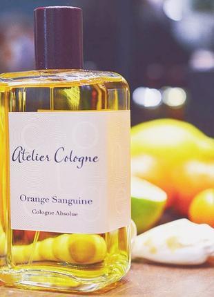 Atelier Cologne Orange Sanguine Оригинал Cologne  7 мл Затест