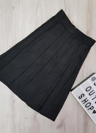 Пышная юбка миди,юбка в складку