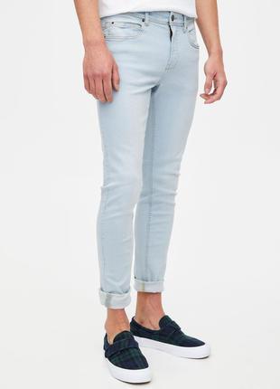 Pull&bear мужские джинсы, скинни штаны