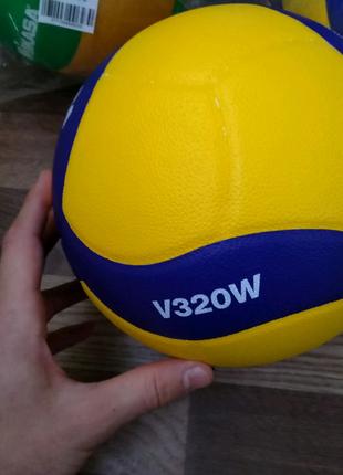 Мяч волейбольный клееный Mikasa V320W